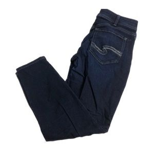 Silver Jeans Suki Super Skinny Dark Wash 33